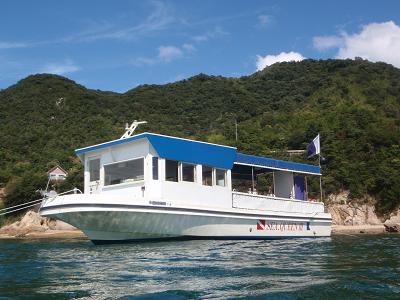 SEA QUEENダイビングボート
